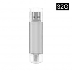 Compact Size Universal OTG Mobile Phone USB Flash Drive Smart Phone OTG U Disk  16g 32g white 32g