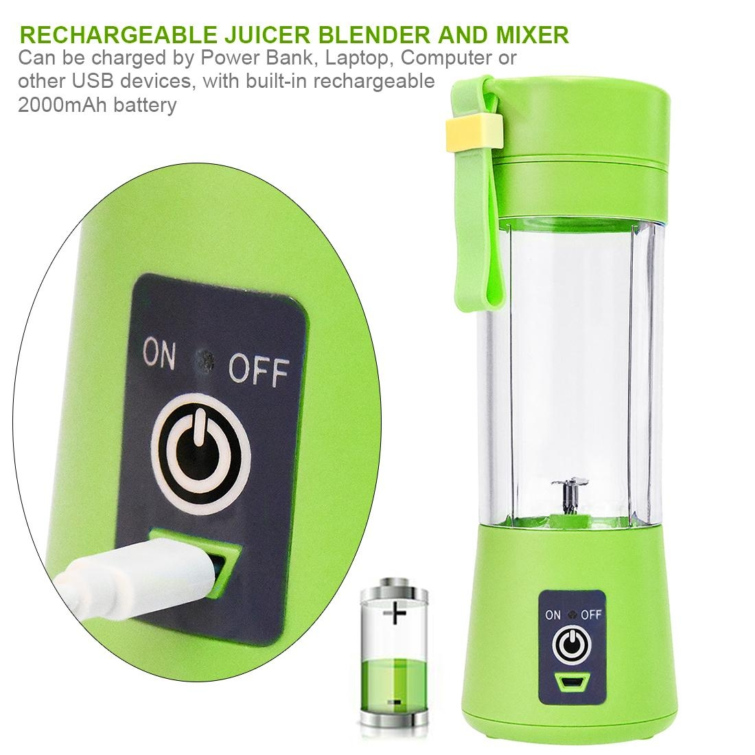 Kilimall Juicer Cup Portable Blender Fruit Mix Machine Rechargeable Battery Please Use A Neutral Detergent And Do Not Chlorine Bleachpackage Content1x Cup1x User Manual1x Usb Charging Cable1x Color Box Packing