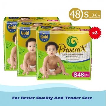 Phoenix Gold High count *3 Green S (3kg-6kg)