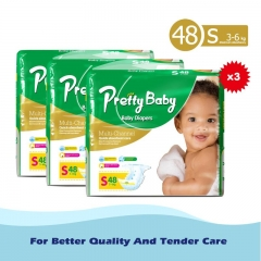Pretty Baby High count *3 Green L (8kg-14kg)