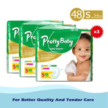 Pretty Baby High count *3 Green S (3kg-6kg)