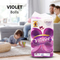 VIOLET Super Soft Tissue Eight Pack white 8 rolls