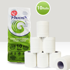 Phoenix Super Soft Tissue Ten Pack White 10 Rolls