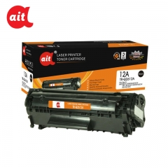 1 Piece Black Ait Toner Cartridge TR-Q2612A (12A) For HP TR-Q2612A (12A)