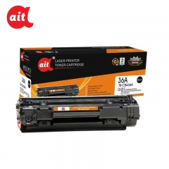 1 Piece Black Ait Toner Cartridge TR-CB436A (36A) For HP TR-CB436A (36A)