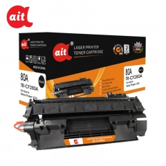 1 Piece Black Ait Toner Cartridge TR-CF280A  (80A) For HP Laserjet TR-CF280A  (80A)