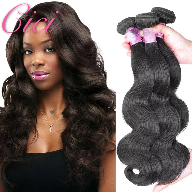 Cici Hair Brazilian Body Wave Bundles Hair 8-28inches 100% Human ... 91490b2bcccd