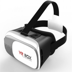 Virtual reality VR glasses VR box two generation 3D glasses Black white High definition Common money