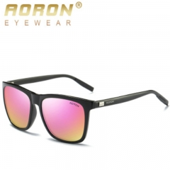 The new men and women of arrogant dragon are polarized with colorful and fashionable sunglassesA387 black/green one size