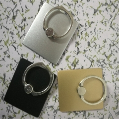 Suitable for universal rotating metal ring buckle mobile phone flat ring bracket As shown in color one size