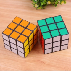 Children's Rubik's Cube Toys Children's Educational Toys Third-Order Intelligence Toys Photo Color one size