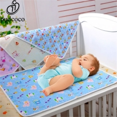 Baby diaper reusable baby diaper mattress diaper newborn waterproof sheet replacement pad random 35*45