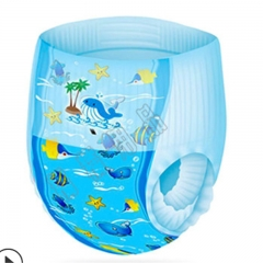 Baby swimming trunks waterproof diapers baby disposable swimming pants diaper 描述  Applicable gender As shown in color M