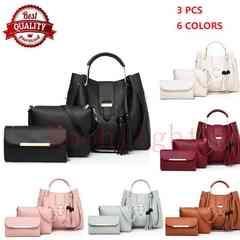 Women's Bags Handbags Lady Bag Fashion single shoulder portable bucket lady bag large capacity black one size
