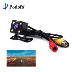 4 LED lights reversing camera night vision HD car wide angle reversing parking  Backup Cameras