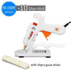 30-150 Watt Optional Hot Melt Glue Gun+Hot Melt Glue Gun Chassis+10 pcs glue sticks 40~150w