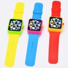 Baby Children Kids Educational  Early Learning 3DTouch Screen Music Toy Smart Watch send randomly
