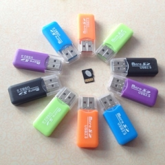 Card Reader,SD,TF ,USB2.0 High Speed color Random Random usb 2.0 one size normal