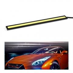 2Pcs 17cm COB DRL LED Daytime Running Light Auto Lamp External Lights For Universal Car