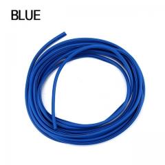 5M Open The Door Car Anti Collision Auto Door Collision Avoidance Stick Rubber Strip blue 5M