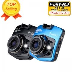 Mini Car DVR Camera Dashcam Full HD 1080P Video Registrator Recorder G-sensor Night Vision Dash Cam blue DVR with 8G card