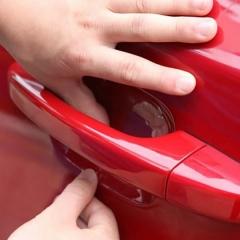 4pcs car universal door handle bowl protective film