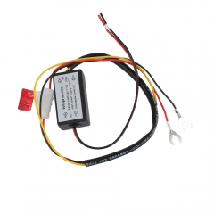 DRL Controller Auto Car LED Daytime Running Lights Controller Relay Harness Dimmer