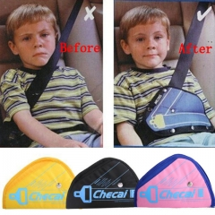 2pcs Safe Fit Thickening Car Safety Belt Adjuster random as picture