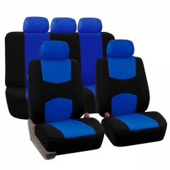 JMXL Automobiles Seat Covers Full Car Seat Cover Universal Fit Interior Accessories Protector blue as picture