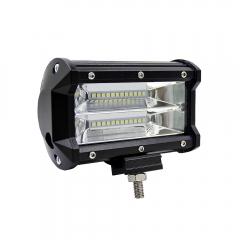 JMXL Work Light Bar 12V Work Lamp 72W 6000K  5 inch Car LED Lamp Bulb for Motorcycle Headlight