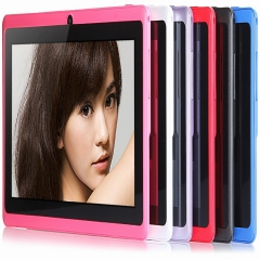 7 inch Quad Core 1G+8GB Kids Tablet PC HD Screen 1024*600 Dual Camera pc tablet black
