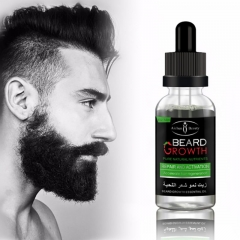 Professional Men Beard Growth Enhancer Facial Nutrition Moustache Grow Beard Shaping Tool 40ml