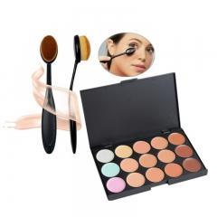 15 Colors Concealer Contour Palette Women concealer freckles acne marks dark circles Makeup cream 1 pcs concealer contour palette
