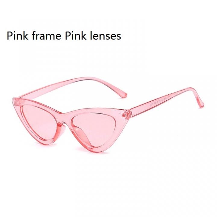 800b973c9d6 Newest Cat Eye Vintage Sunglasses Women Ladies Small Sun Glasses Retro  Frames Driving Shades Eyewear Pink