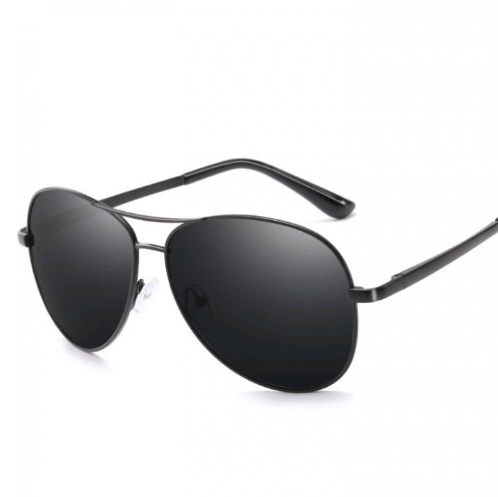 caa79091dff Photochromic Pilot Polarized Sunglasses Men Women Sun Glasses Driving  Goggles Shades Eyewear UV400 Black frame Gray