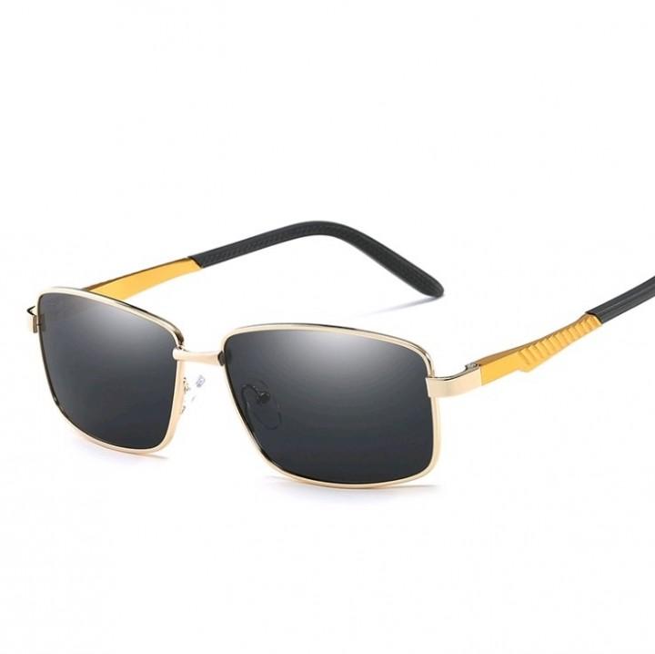 Newest Men Polarized Sunglasses Men Driving Black Sun Glasses Gold ...