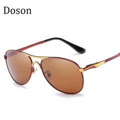 Newest Fashion Aviator Polarized Sunglasses Men Alloy Frame Driving Sun Glasses Men Shades Eyewear C7 one size