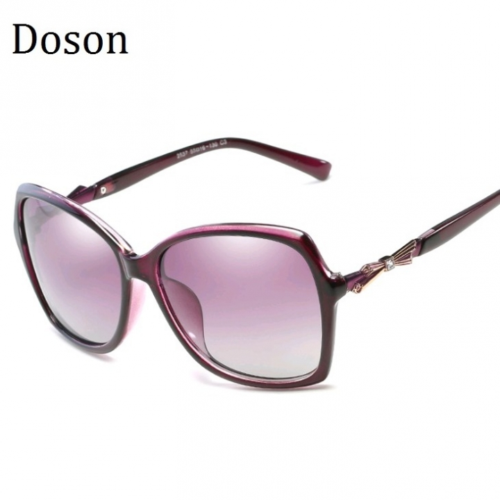 326ba0cc5e New Oversized Polarized Sunglasses Women Ladies Driving Retro Sun Glasses  Shades Eyewear Big Frames Purple frame