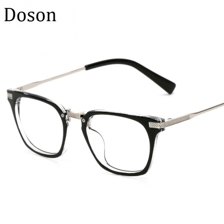 989abe864d03 Newest Metal Vintage Glasses Men Women Ladies Optical Eyeglasses Frames  Clear lens Retro Eyewear Black frame