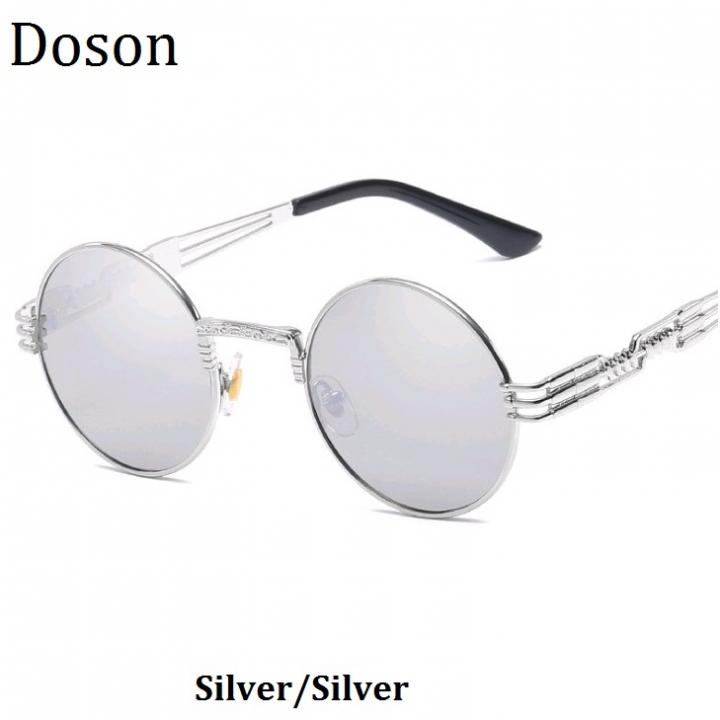 e1cea75e48 Newest Vintage Round Mirror Sunglasses Women Men Ladies Driving Retro Sun  Glasses Metal Frame Shades Silver