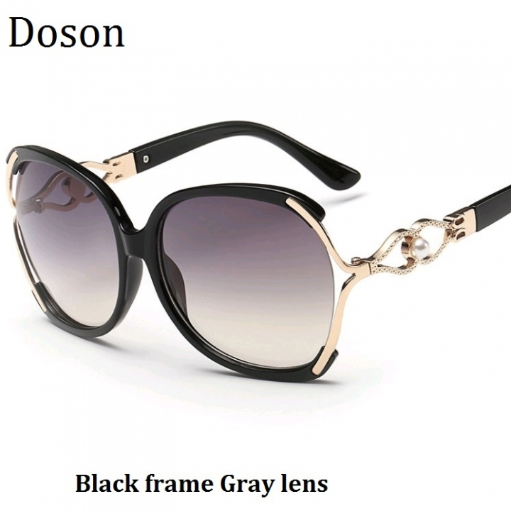 d2dd75da74 Fashion Vintage Oversized Sunglasses Women Ladies Driving Retro Sun Glasses  Big Frame Shades Eyewear Black frame