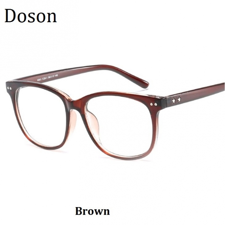 07bdc9217c Newest Vintage Optical Glasses Men Women Myopia Eyeglasses Frame Fashion  Retro Eyewear Ladies Shades Brown one