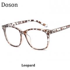 Newest Vintage Optical Glasses Men Women Myopia Eyeglasses Frame Fashion Retro Eyewear Ladies Shades Leopard one size