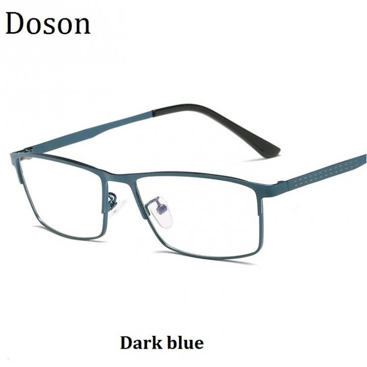 f52afbecdf New Fashion Square Optical Glasses Men Women Ladies Myopia Eyeglasses  Frames Vintage Retro Eyewear Dark blue