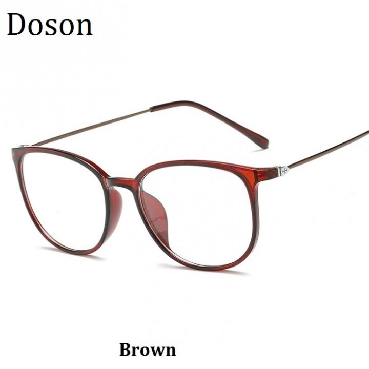 378317100a5e 2018 New Vintage Optical Glasses Women Men Fashion Myopia Eyeglasses Frame  Sunglasses Ladies Eyewear Brown one