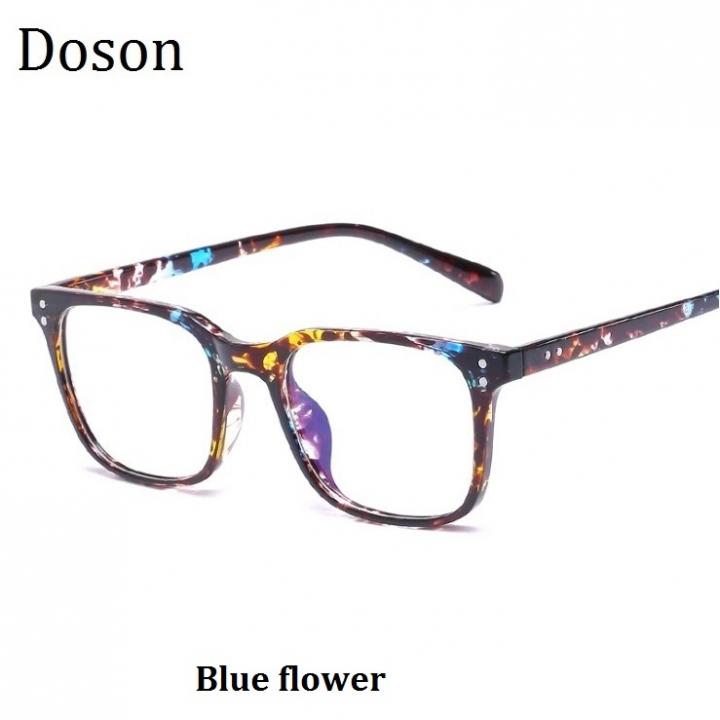 6455277c6f Newest Vintage Fashion Glasses Women Men Ladies Myopia Optical Eyeglasses  Frame Retro Eyewear Goggle Blue flower