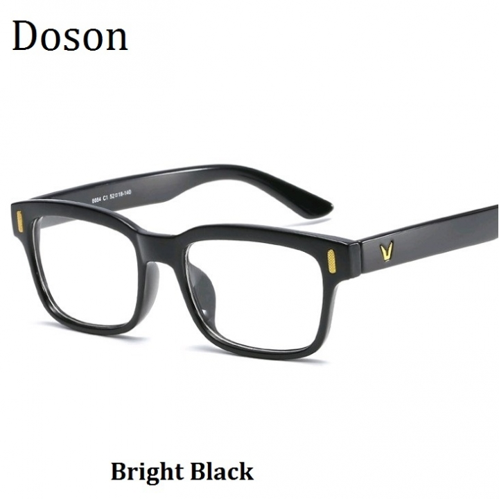 83d035ebbc Newest Square Vintage Glasses Women Men Ladies Fashion Retro Optical  Eyeglasses Frame Myopic Eyewear Bright Black