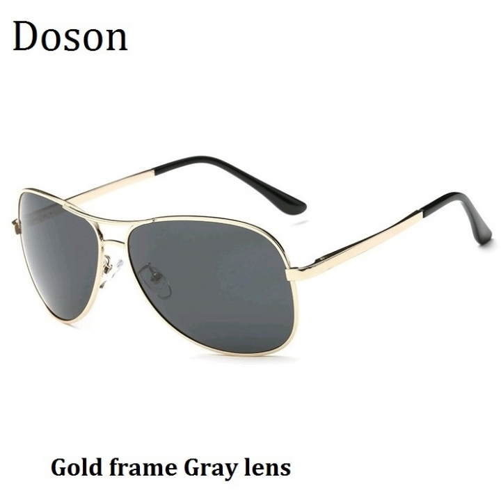 b03a93fa4cbe Newest Pilot Alloy Polarized Sunglasses Men Male Fashion Aviator Driving  Sun Glasses Shades Eyewear Gold frame