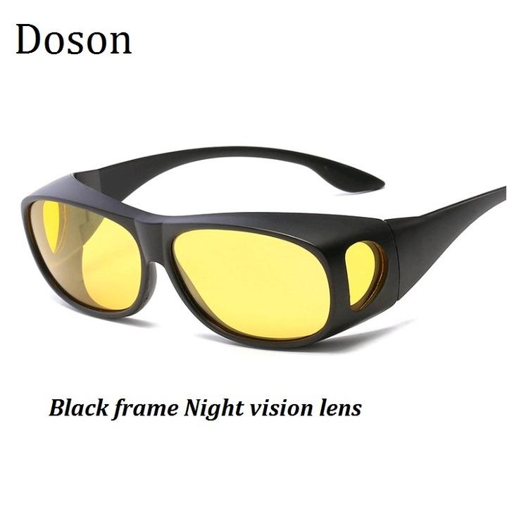 1ef094c062 Newest Sport Polarized Sunglasses Men Women Driving Cover For Myopia Sun  Glasses Night Vision Shades Black