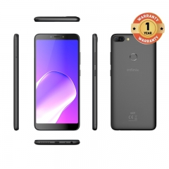 INFINIX HOT 6 PRO, 3+32G, 6.0 HD, Dual camera, 4000mAh, 4G LTE, FACE + FIGERPRINT UNLOCK, Smartphone black